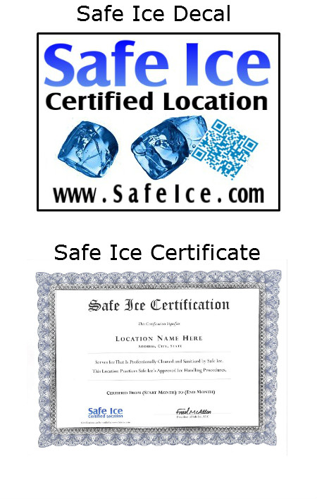Safe Ice Ice Machine Cleaning Service